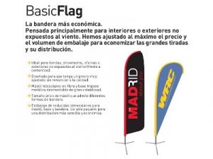 Banderas interior y exterior gota y vela