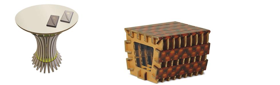mesas en carton_muebles de cartón