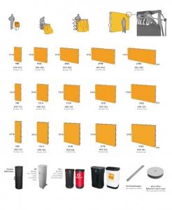 Pop up textil plegable para photocalls, ferias, stands, presentaciones...